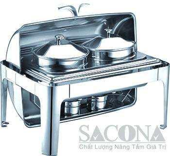 Nồi Hâm Cháo – Soup Sacona Hình Chữ Nhật