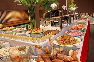 thiết bị dụng cụ tiệc buffet Sacona
